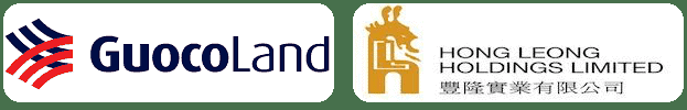 GuocoLand And Hong Leong Holdings Logos
