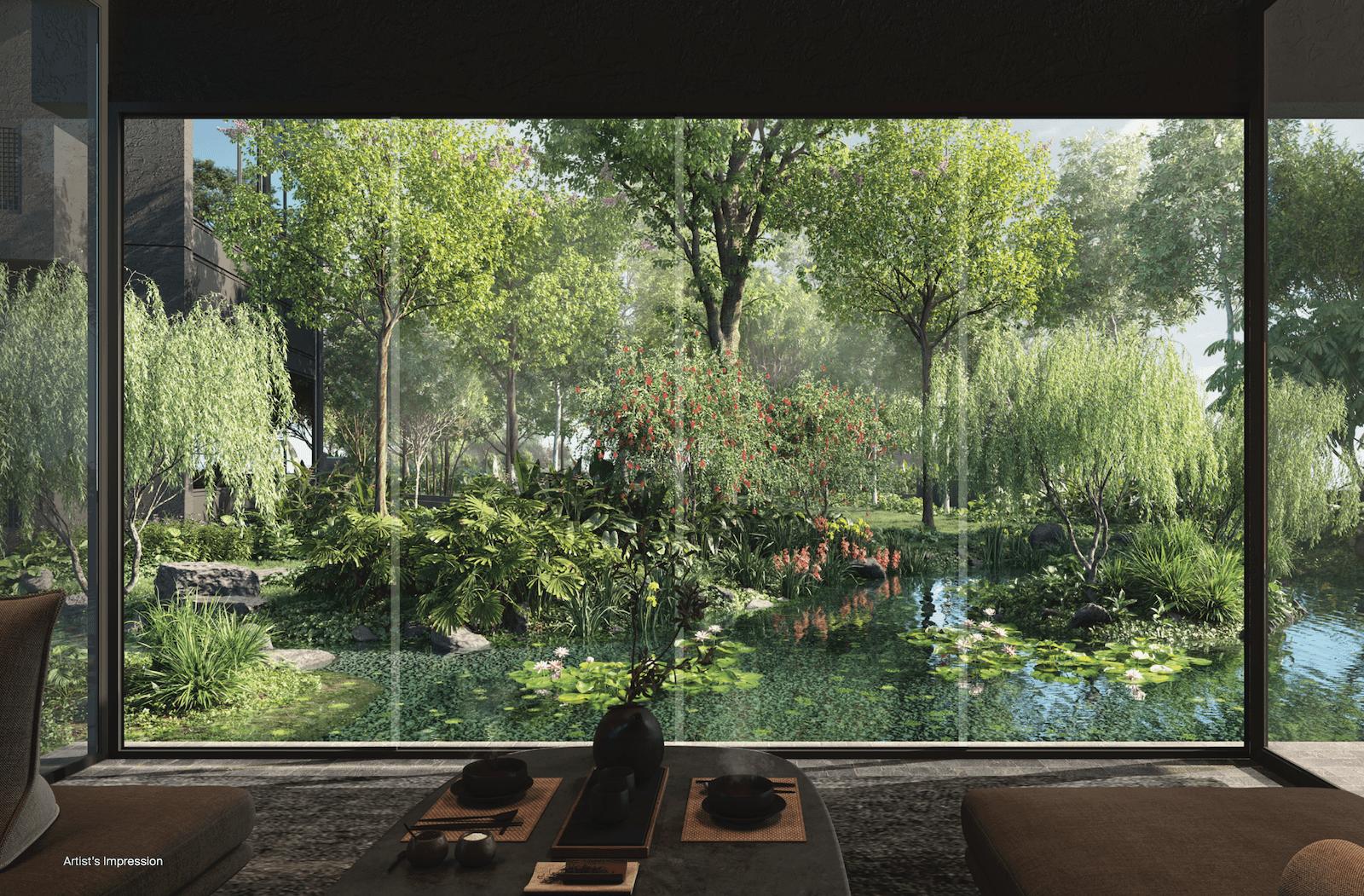 Midtown Modern Location - Garden In A City