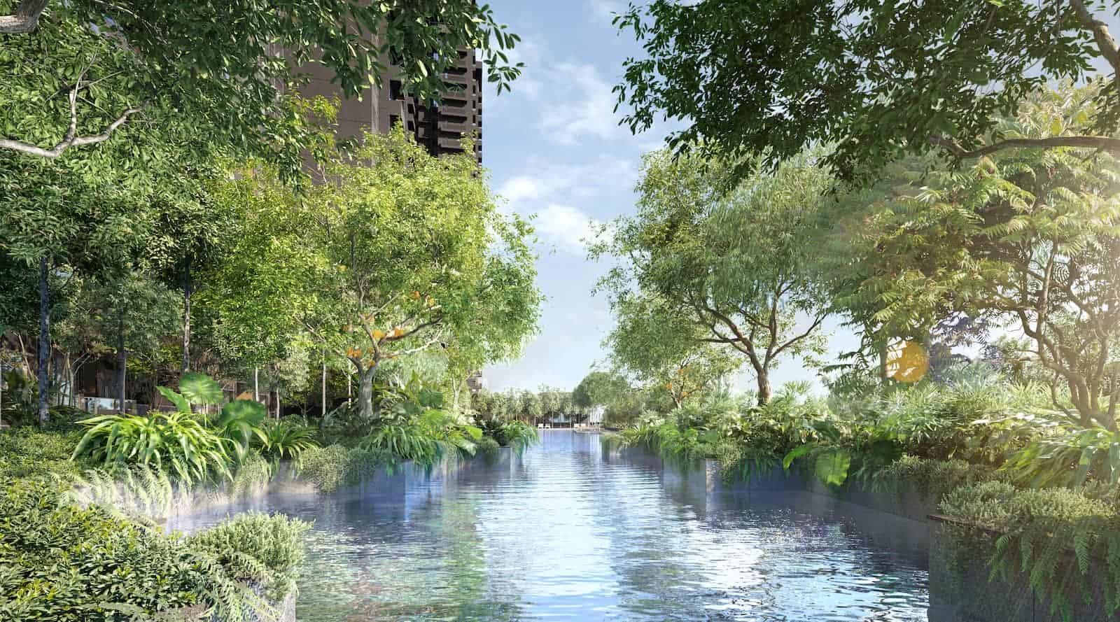 Midtown Modern Amenities Estuary Pool